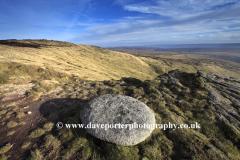 Millstones on Bleaklow Moor