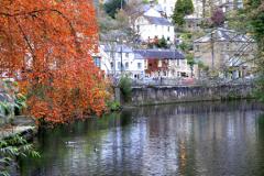 The River Derwent in Autumn Matlock Bath