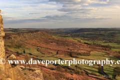 Bel Ami rock formation, Curbar gritstone edge