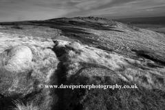 Gritstone rocks on Shelf Moor, Snake Pass