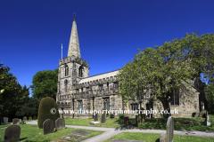 St Michaels church, Hathersage village