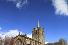 St Marys Parish Church, Wirksworth village