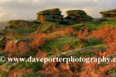 Autumn, Gritstones, Lawrence Field, Grindleford