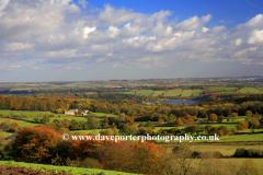 View over Ashton village, Peak District