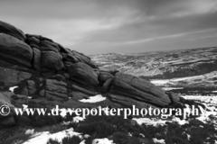 Wintertime, Hurkling Stones, Derwent Moors