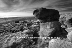 Rocks on Shinning Clough Moss Moor