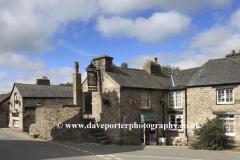 View of Widecombe in the Moor village, Dartmoor