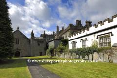 Tavistock Abbey buildings, Tavistock town