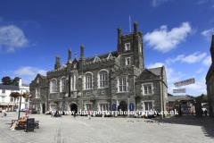 Town hall at Tavistock town, Dartmoor