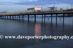 Sunset over Paignton Pier, Torbay