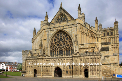 Exeter Cathedral and gardens