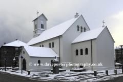 The Dómkirkjan Cathedral, Reykjavik