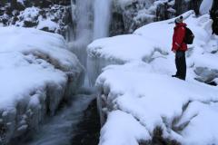The Oxararfoss Waterfall, Pingvellir National Park
