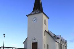 The church at Borgarnes town