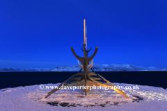 Sun Voyager Viking Ship sculpture Reykjavik