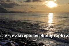 Sunrise, Akranes coast, Snaefellsnes Peninsula