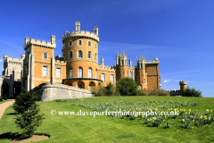 Summer, May, June, Belvoir Castle gardens, Leicestershire, England, UK