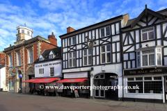 Spring, April, May, Ye Old Pork Pie shop, market town of Melton Mowbray, Leicestershire, England; Britain; UK