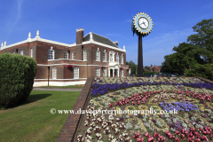 Summer, the Council Hall, Coalville town, Leicestershire, England; Britain; UK