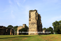 The ruins of Ashby de la Zouch Castle, Ashby de la Zouch, Leicestershire, England; Britain; UK
