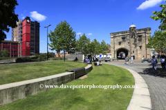 De Montfort University campus at, Leicester City, Leicestershire, England; Britain; UK