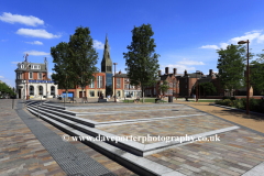 The Jubilee Square, Leicester City, Leicestershire, England; Britain; UK