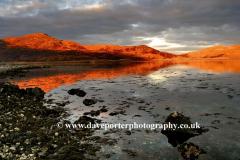 Sunset, Cruach Ardura, Loch Spelve, Isle of Mull