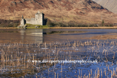 The ruins of Castle Kilchurn, Loch Awe