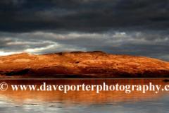 Sunset over Cruach Ardura, Loch Spelve, Mull