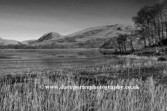 Winter frost on Loch Awe