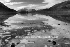 Winter Frost on Loch Leven Glencoe