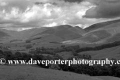 The Hart Fell valley, Moffat Town Dumfries