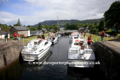 Boats at Fort Augustus, Caledonian Canal