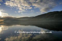 Sunset, Ardgour Mountain Range Loch Linnhe
