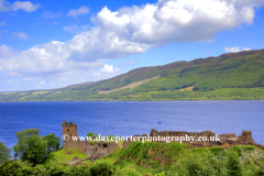 The ruins of Urquhart Castle, Loch Ness