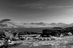 Frosty view through Loch Scridain; Isle of Mull