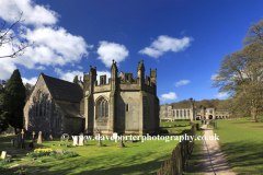 Church of the Holy Cross and Ilam Hall