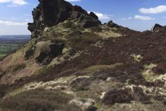 The Ramshaw rocks near Leek  town