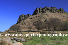 The Roaches rock formations