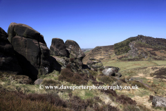 Hen Cloud Rocks, Upper Hulme village