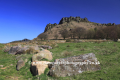 The Roaches rock formations, near Upper Hulme