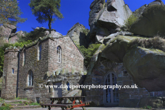 Rock Hall Cottage, the Roaches rocks