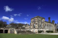 Ilam Hall in the village of Ilam