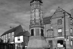 The War Memorial, Market square, Uttoxeter
