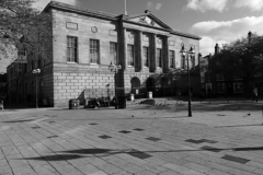 The Shire Hall building, market place, Stafford