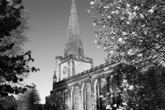 St Marys church, Uttoxeter town