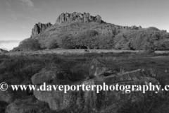 Dusk, Hen Cloud rock, the Roaches Rocks