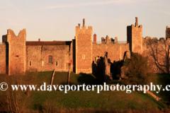 Sunset, Framlingham Castle, Suffolk, England, UK
