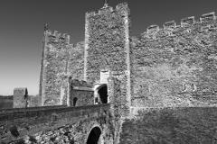 Summer, Framlingham Castle (1157-1216,) Framlingham village, Suffolk County, England, UK