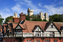 The Old Post Office and Arundel castle